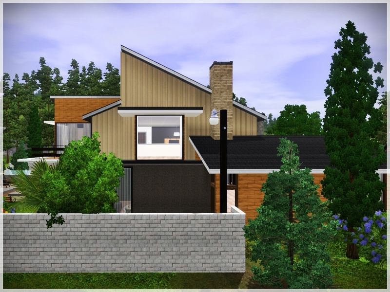 Modern Forest House: Ray_Sims' Modern Forest House