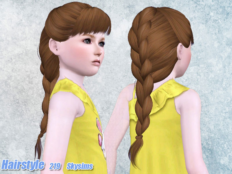 Skysims Hair 219