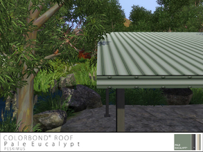 Sims 3 — Colorbond Roof - Pale Eucalypt by peskimus — The strongest of all tin roofs to survive any weather; rain, hail