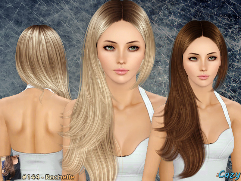 Hair Style Zone: Cazy's Rochelle Hairstyle