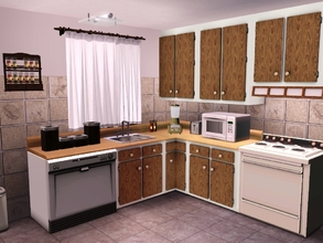 Retro 50s to 80s Sims 3 Kitchen Sets