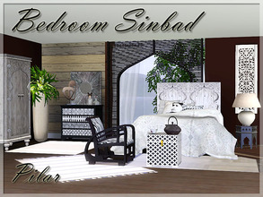 Sims 3 — Bedroom Sinbad by Pilar — Evoking Eastern mysteries and legends