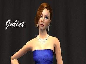 Sims 2 — Juliet  by cookiesandmilk5202 — Juliet is a world-famous fashion designer and model. She\'s a fashion icon and