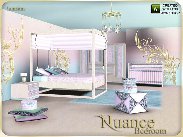 Jomsims Nuance Bedroom