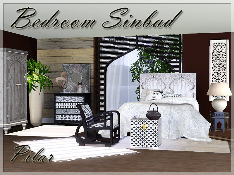 Pilars bedroom sinbad