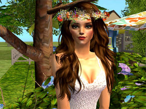 Sims 2 — Serena by sirok2 — Tis girl looks like tender mermaid. Take care about her.