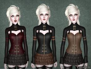 Sims 3 Female Clothing - 'goth'