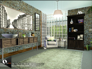Sims 3 — Groseiller Hallway by Onyxium — * Groseiller Hallway Collection * Onyxium@TSR | June 2014 * All objects are
