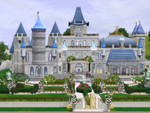 Sims 3 — Cinderellas Castle VII dv by cm_11778 — A fairytale castle perfect for a princess or royal Sim. Happy