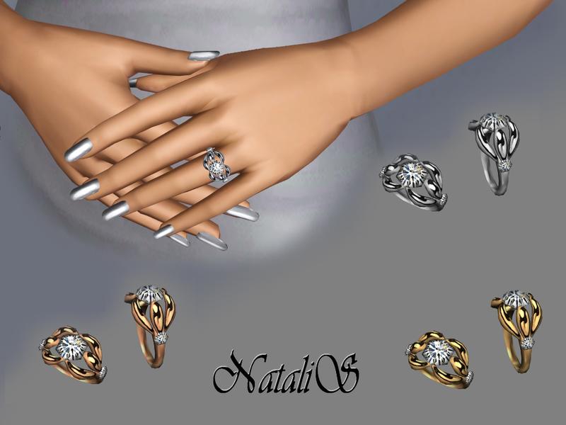 Natalis Diamond Engagement Ring 002 Fa Fe