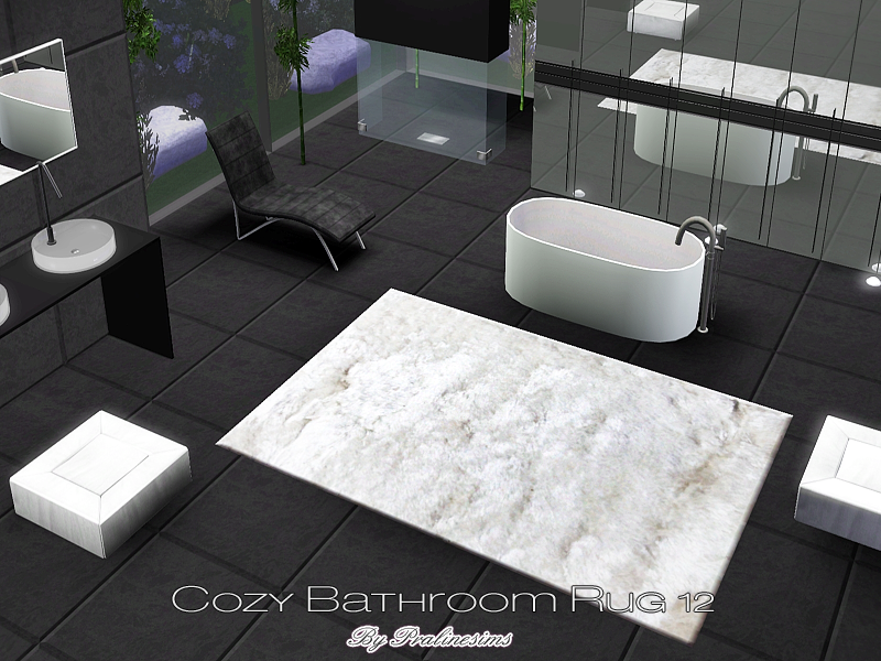 Pralinesims Cozy Bathroom Rug 12