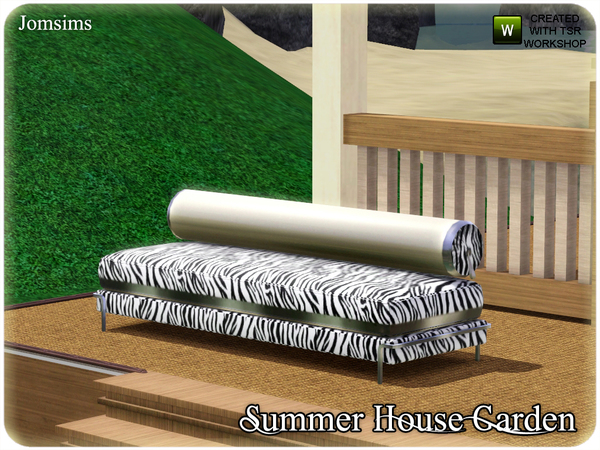 Jomsims 39 Summer House Garden Sofa