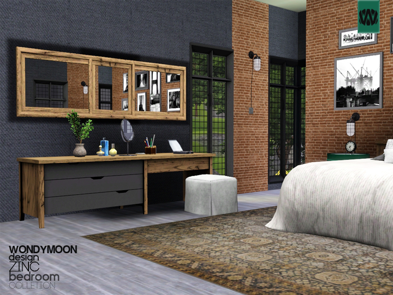 wondymoon\'s Zinc Bedroom