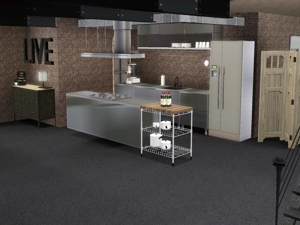 Suzz86 39 s industrial loft for Hope kitchen bridgeport ct