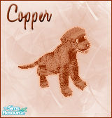 Sims 1 — Cooper Dog by BloodMaple —