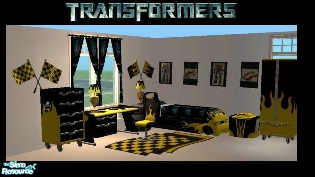 Good Transformers  Bumble Bee Bedroom