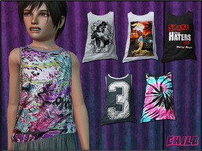 Sims 3 — ChildFashionSet2_Tanktop by Shojoangel — Hi...fashionable and trendy set for your little kids...for both genders