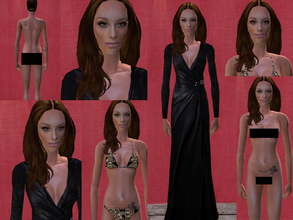 Sims 2 — Angelia Jolie by tabzfrench2 — My first attempt at creating a celebrity.