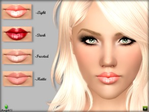 Sims 3 — Super Intense Gloss. by Margeh-75 — -beautiful shine lipgloss to keep your sims lips moisturised with a lovely