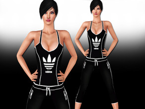 Sims 3 — Adidas Athletic Outfit by saliwa — New Style Athletic Outfit by Saliwa