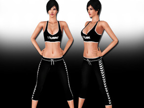 Sims 3 — Hummel Athletic Outfit by saliwa — Designed by Saliwa