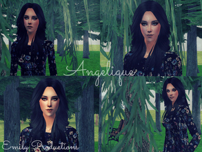 Sims 2 — Angelique by sarahandemily2 — Enjoy my new creation! I hope you guys will like her! Normally the clothes and the