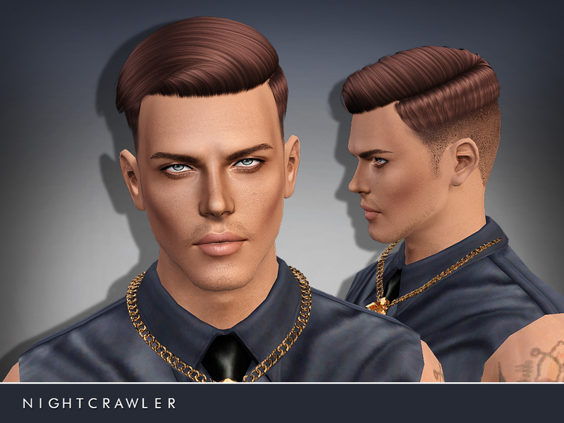 Nightcrawler Sims Nightcrawleramhair07