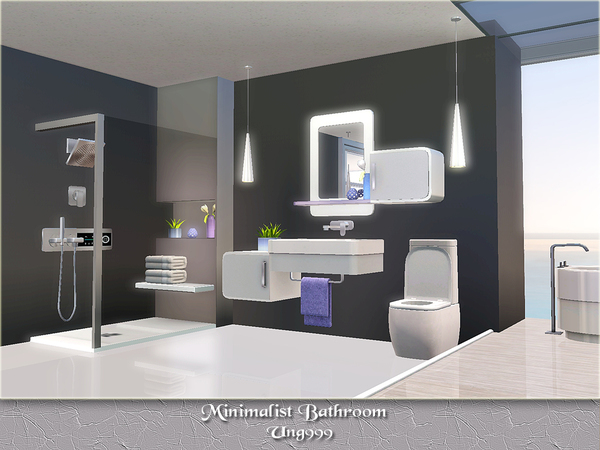 40 Modern Minimalist Style Bathrooms: Ung999's Minimalist Bathroom