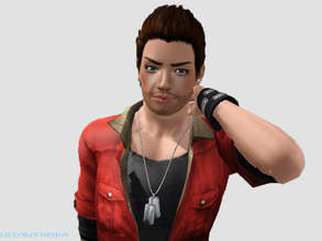 Sims 3 — Steven Dawn by Lily-chan2 — Steven is the newest model of mine alongside with his sister, Amelia. Steven is the