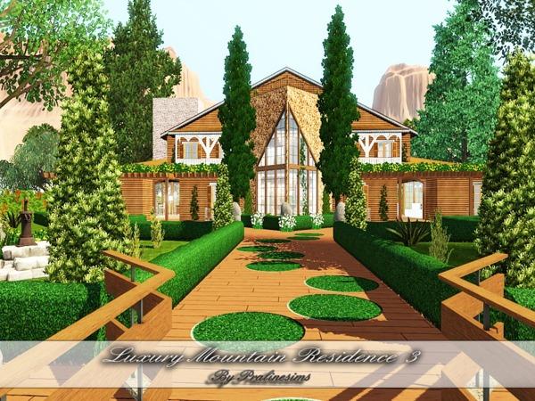 29 Luxurius Improving: Pralinesims' Luxury Mountain Residence 3