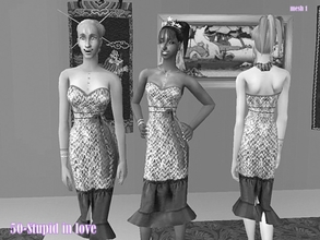 Sims 2 — 5fd43a0f M Scpencildress2 by Well_sims — Mesh for you.