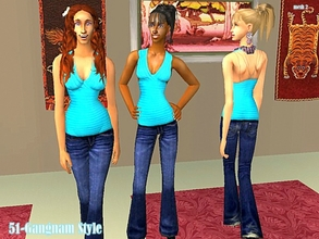 Sims 2 — Mesh Simchicfullbodybootcut5-05-05 by Well_sims — Mesh for you.