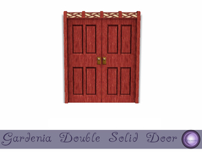 Sims 3 — Gardenia Double Solid Door by D2Diamond — Double door to compliment the Gardenia Collection. What secrets lie