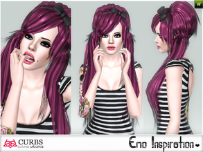 Sims 3 — curbs hairstyle 10 by Colores_Urbanos — if this is the last! for now! :D :D :D From Paraguay with love! enjoy!