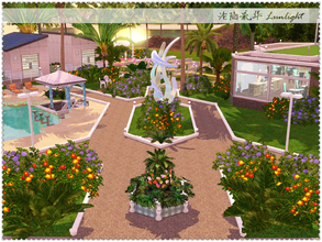 Sims 3 — Glowing Kelp Resort by Lunlight2 — A modern and luxury 5-star resort. It has all required equipment for a