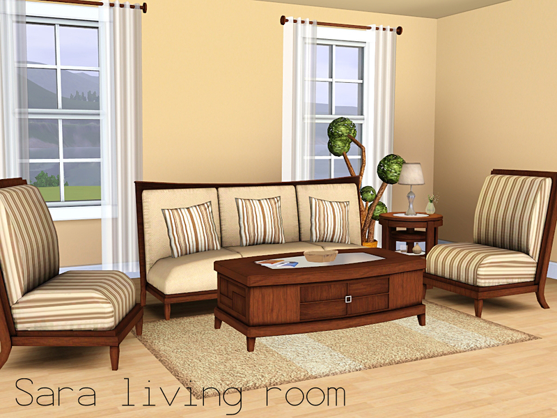 Spacesims 39 Sara Living Room