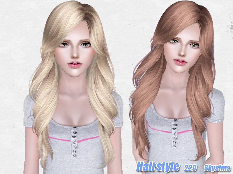 Skysims Hair 229 Set