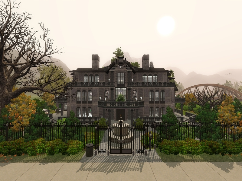camarossz28s corpse bride everglot mansion