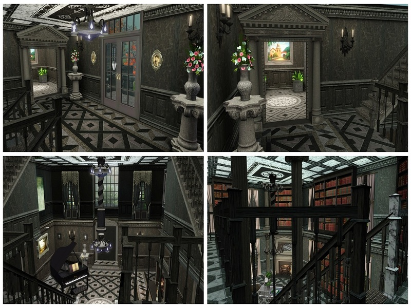Camarossz28 S Corpse Bride Everglot Mansion
