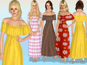 Sims 3 maxi dress # 008040837