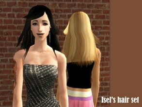 Sims 2 —  Mesh Fm70sfliphairmodel70705 by Well_sims — Hair mesh for you.