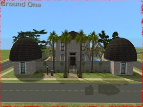 Sims 2 — Ground One by TomTho9742 — A contemporary home? Who could ask more for a couple with a little girl? She will