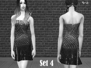 Sims 2 —  Mesh Simchicsundressstilettos2-23-05 by Well_sims — Mesh for you.