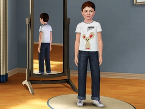 Sims 3 — Mice say Squeak - Male by amybabe18 — Mice say Squeak T-Shirt for male children. You will find this under