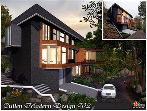& Sims 3 Lots - \u0027cullen house\u0027