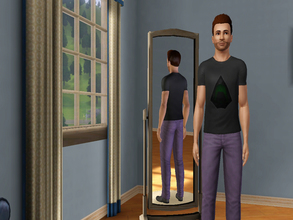 Sims 3 — Arrow T-Shirt by gianni_lupini — An amazing black T-Shirt of the CW Arrow. No expansions/Stuff packs are