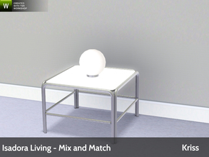 Sims 3 — Isadora Living Accent Globe Lamp by Kriss — Modern and comfortable living. Made by Kriss@TSR. TSRAA