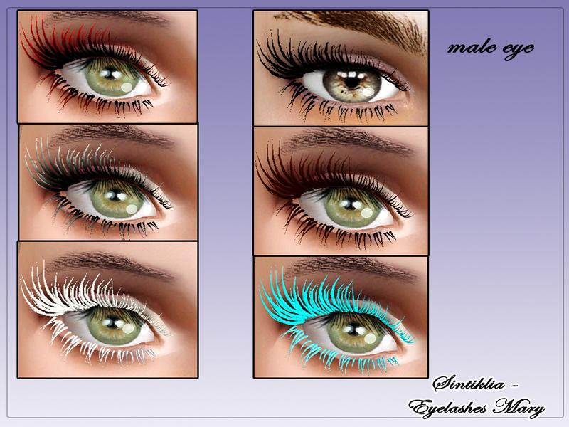 SintikliaSims' Sintiklia - FM eyelashes Mary The Sims Resource