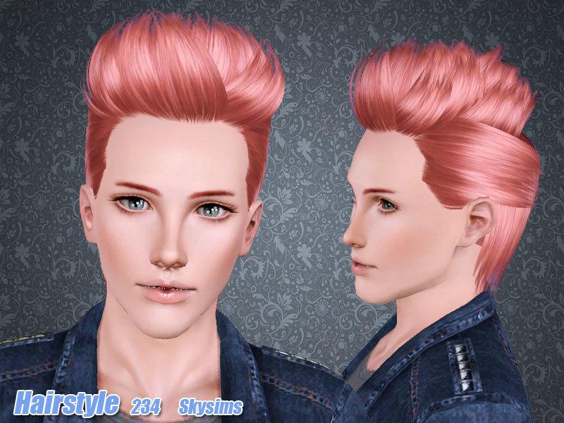 Skysims Hair 234 Set