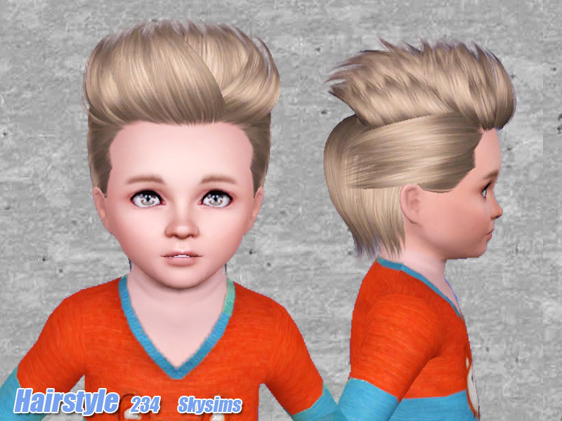 Skysims Hair 234 Set